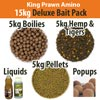 King Prawn Amino Deluxe Bait Pack